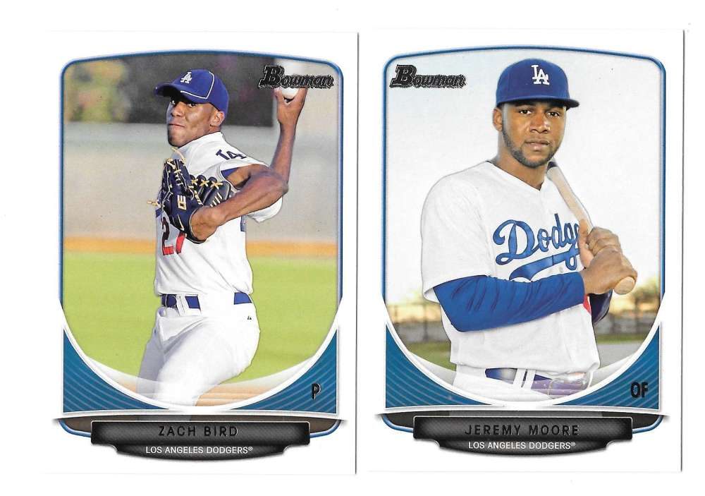 2013 Bowman Prospects - LOS ANGELES DODGERS Team Set