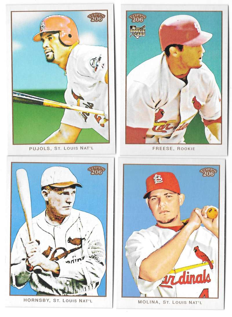 2009 Topps 206 - ST LOUIS CARDINALS Team Set