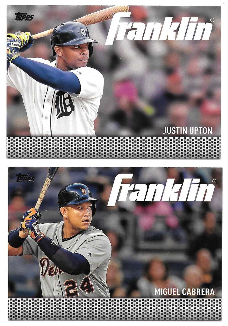 2016 Topps Update Team Franklin - DETROIT TIGERS