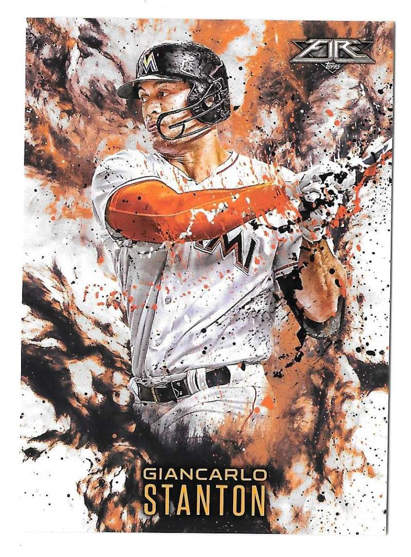 2016 Topps Update Fire - MIAMI MARLINS