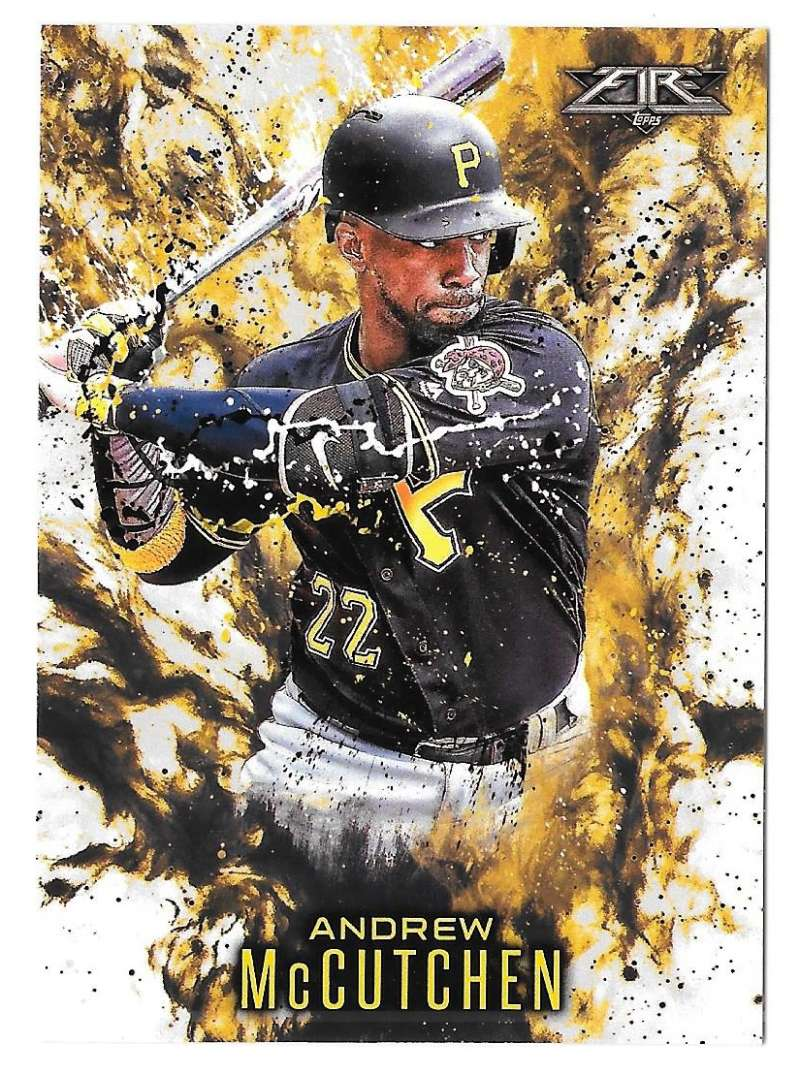 2016 Topps Update Fire - PITTSBURGH PIRATES