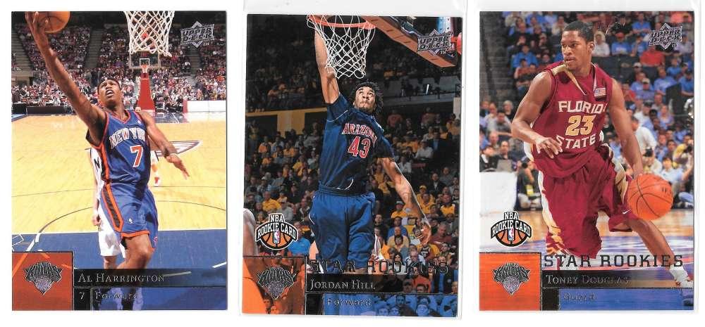 2009-10 Upper Deck (1-240) Basketball Team Set - New York Knicks