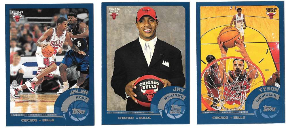 2002-03 Topps Basketball Team Set - Chicago Bulls