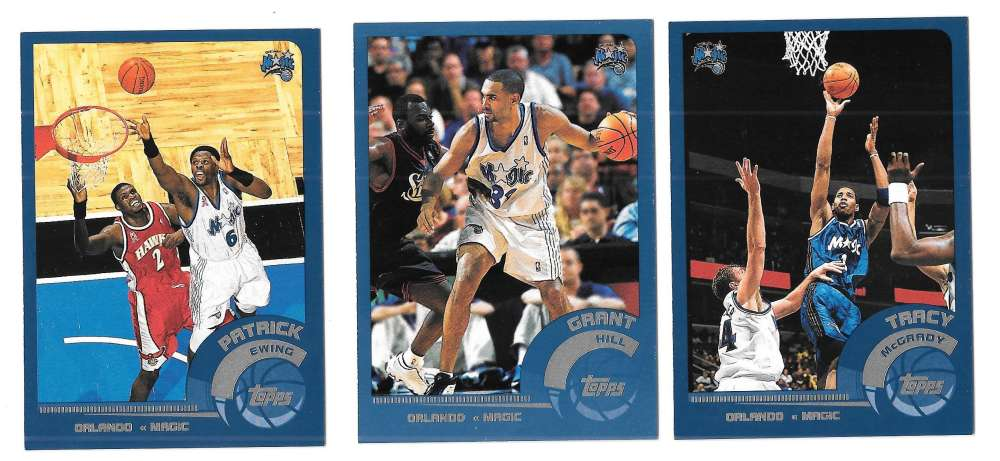 2002-03 Topps Basketball Team Set - Orlando Magic