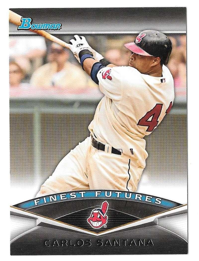 2011 Bowman Finest Futures - CLEVELAND INDIANS