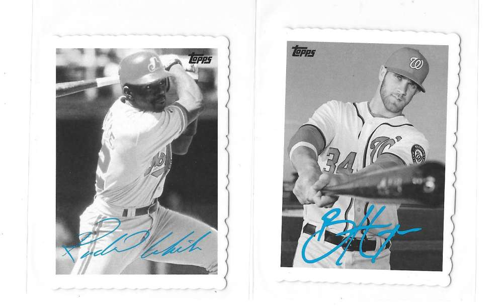 2014 Topps Archives 69 Deckle Minis - WASHINGTON NATIONALS / MONTREAL EXPOS