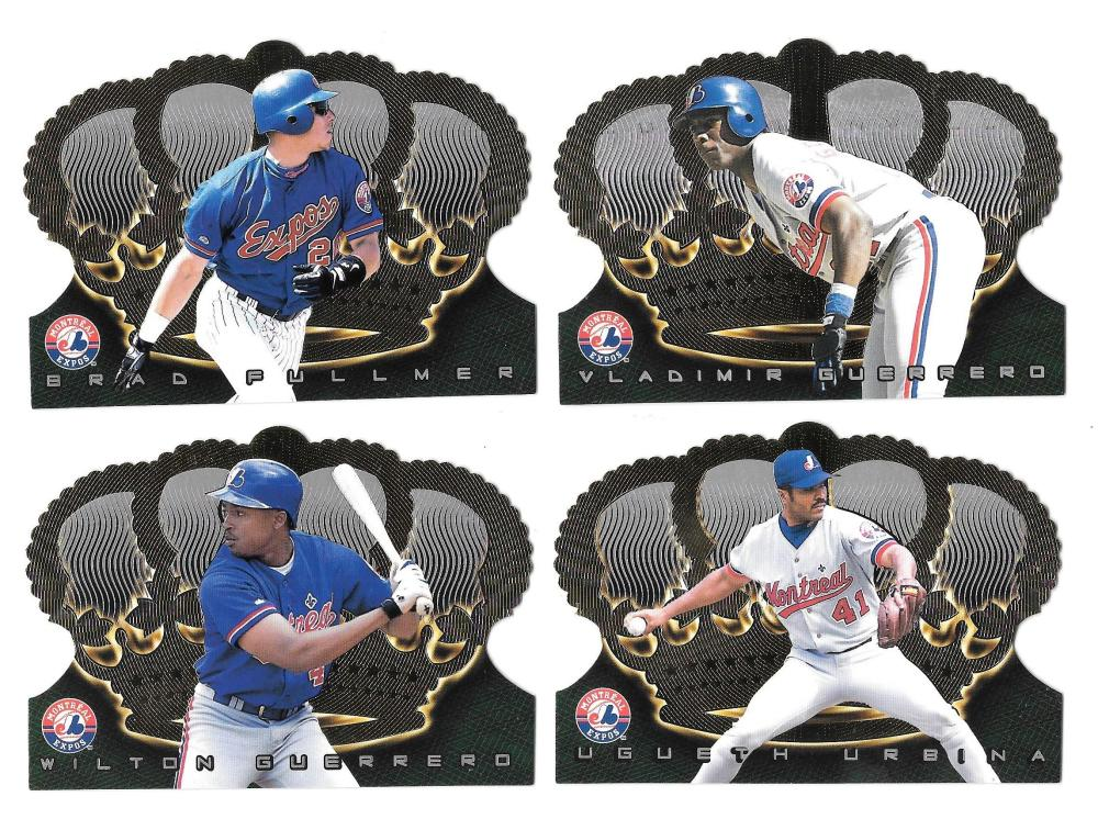 1999 Pacific Crown Royale - MONTREAL EXPOS Near Team Set