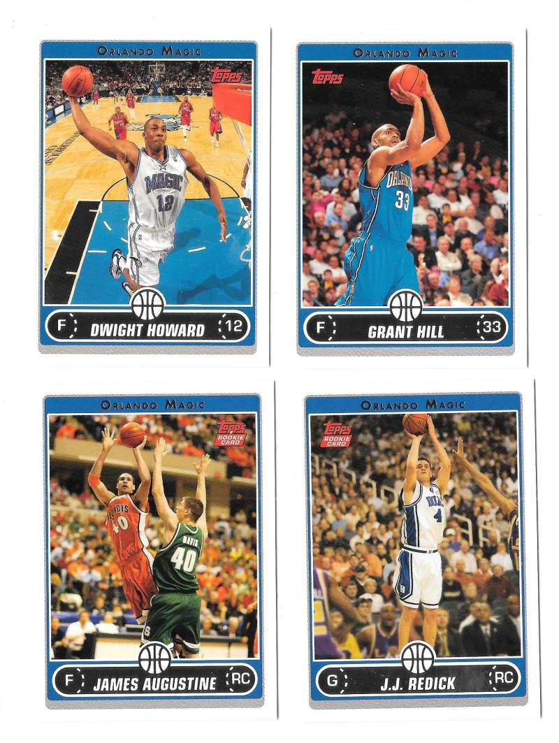 2006-07 Topps (1-265) Basketball Team Set - Orlando Magic