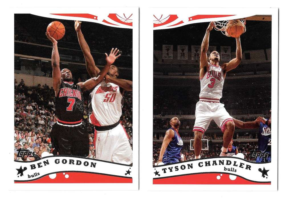 2005-06 Topps Basketball Team Set - Chicago Bulls