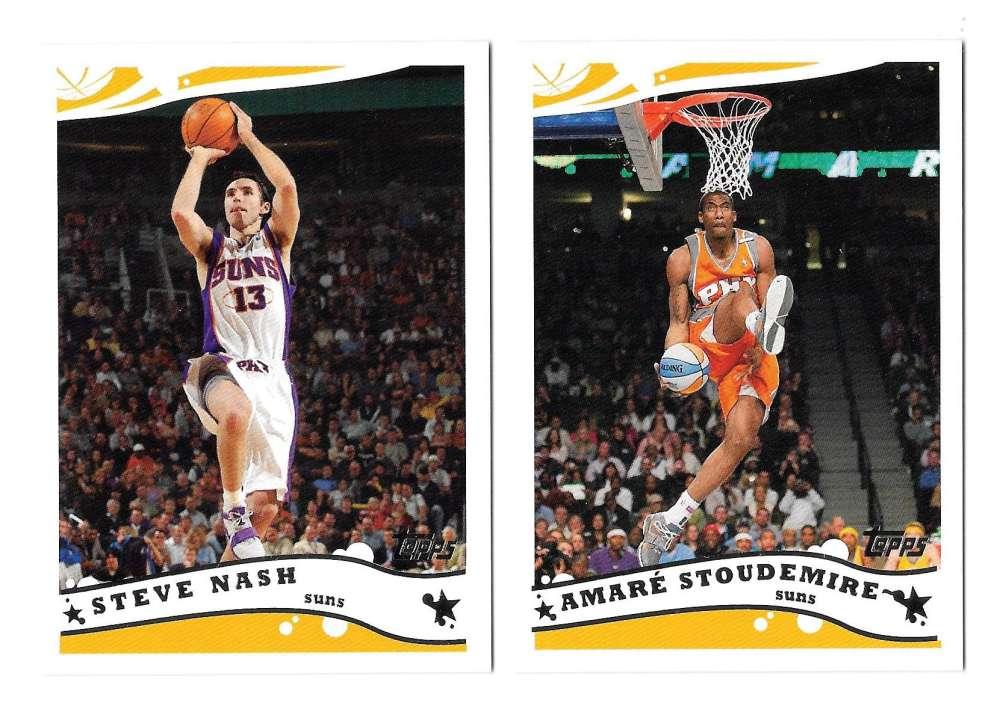 2005-06 Topps Basketball Team Set - Phoenix Suns