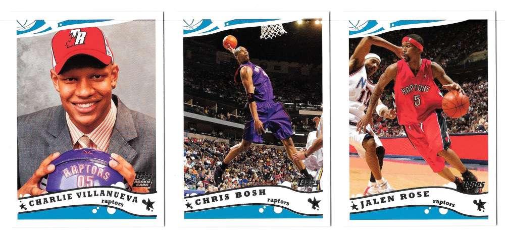 2005-06 Topps Basketball Team Set - Toronto Raptors