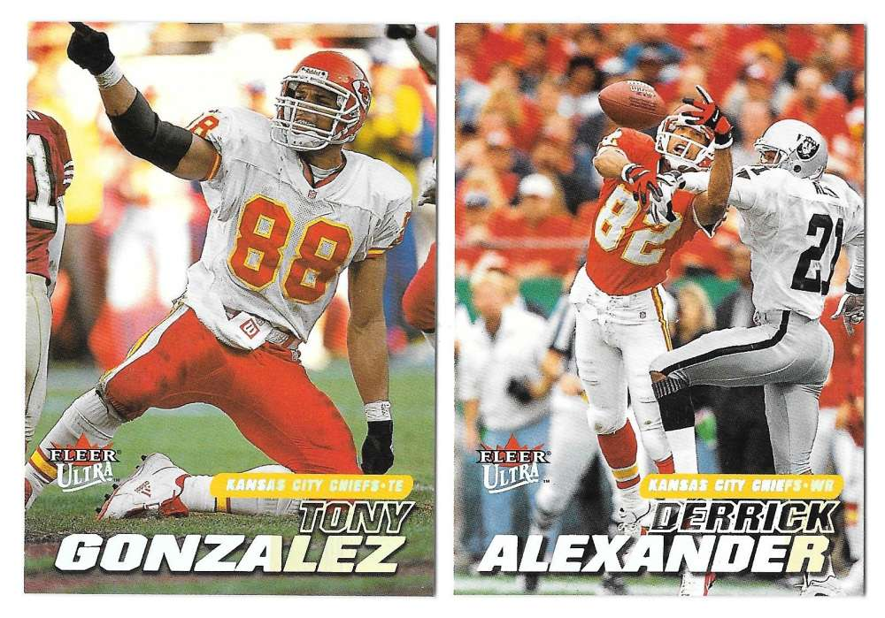 2001 Ultra (1-250) Football Team Set - KANSAS CITY CHIEFS