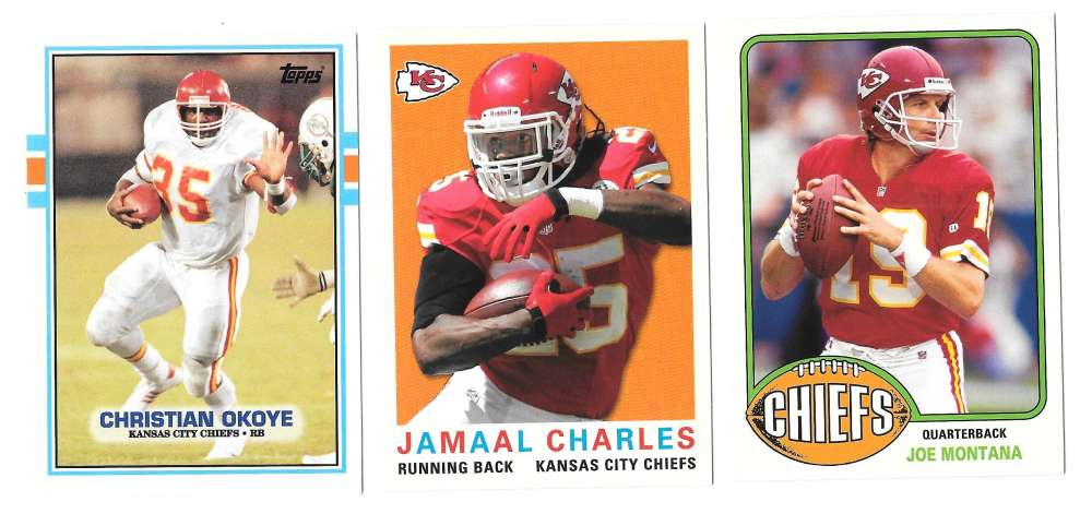 2013 Topps Archives (1-240) Football Team Set - KANSAS CITY CHIEFS