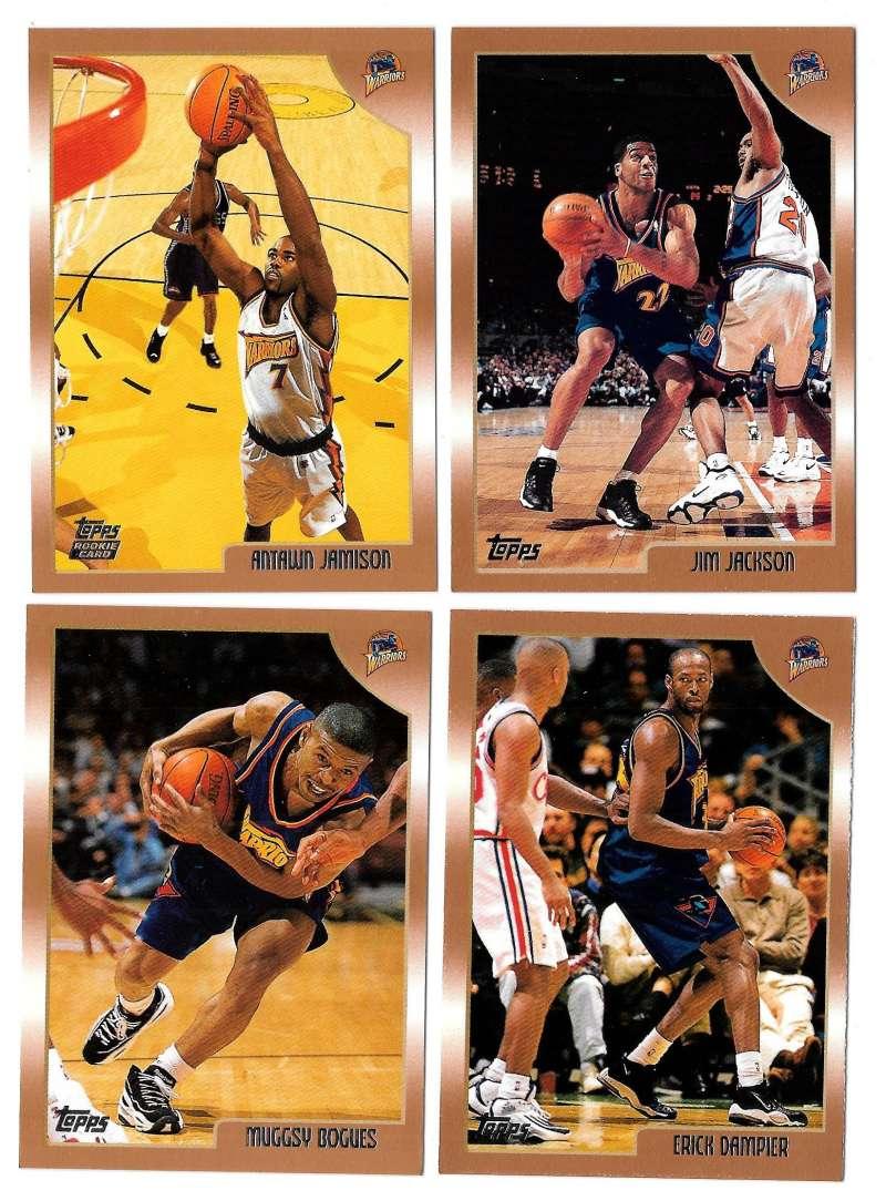 1998-99 Topps Basketball Team Set - Golden State Warriors