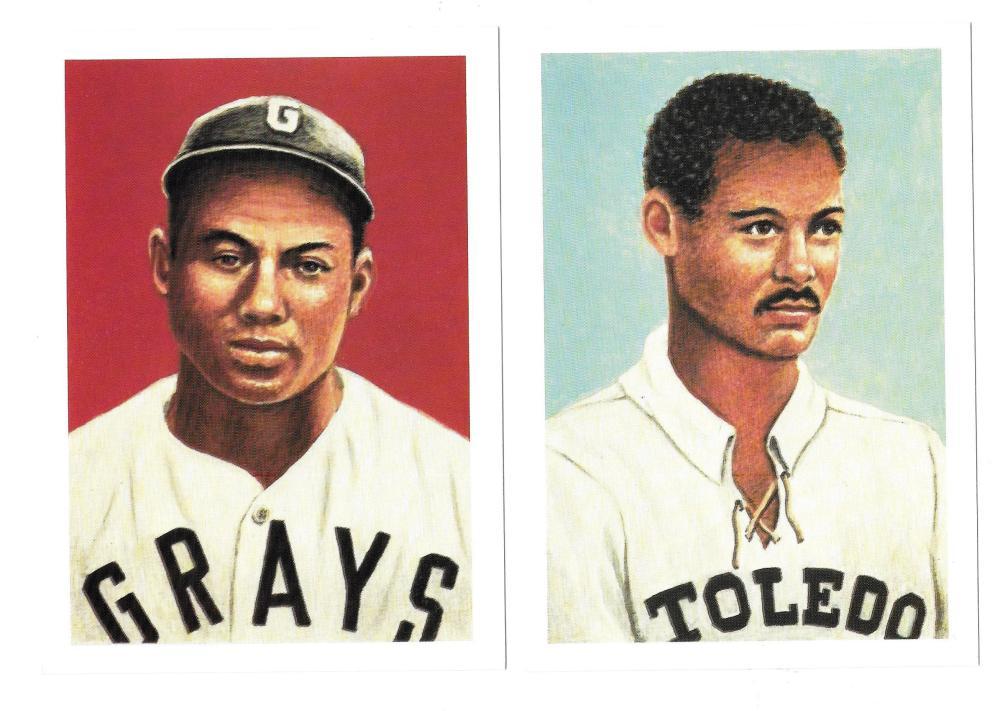 1985 Ultimate Baseball Cards - Negro Leaguers