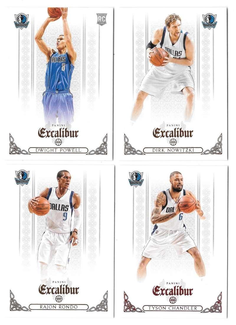 2014-15 Panini Excalibur (1-200) Basketball Team Set - Dallas Mavericks