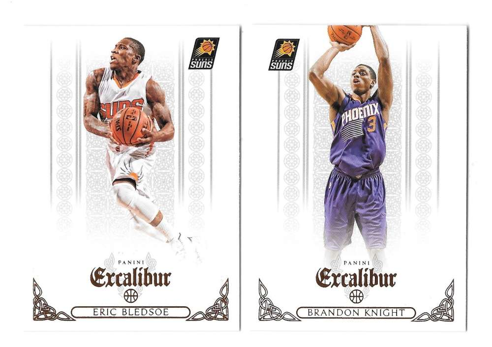2014-15 Panini Excalibur (1-200) Basketball Team Set - Phoenix Suns