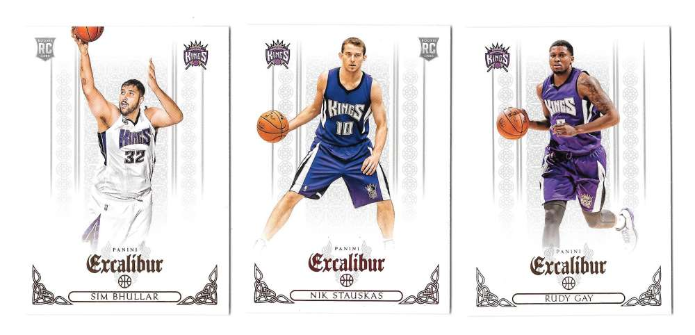 2014-15 Panini Excalibur (1-200) Basketball Team Set - Sacramento Kings