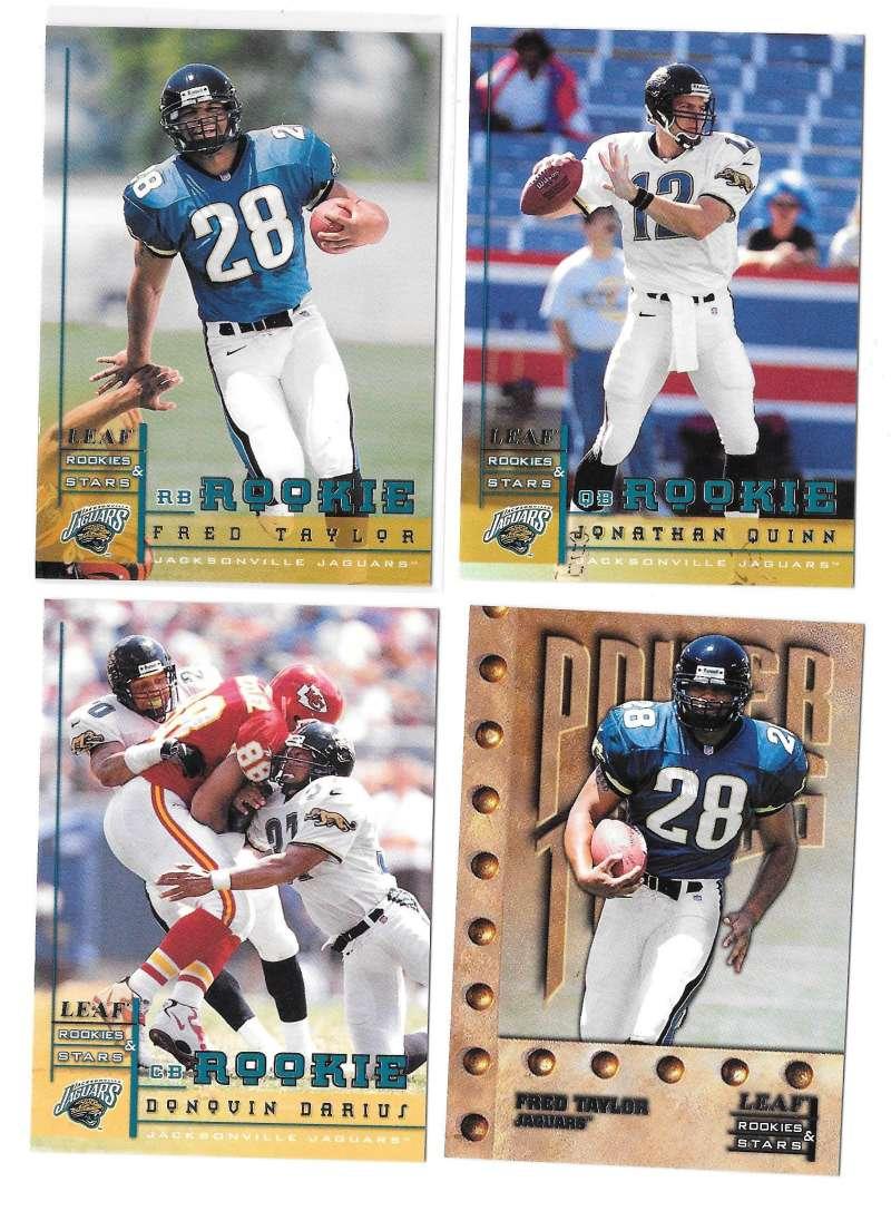 1998 Leaf Rookies and Stars Football (1-300) Team Set - JACKSONVILLE JAGUARS