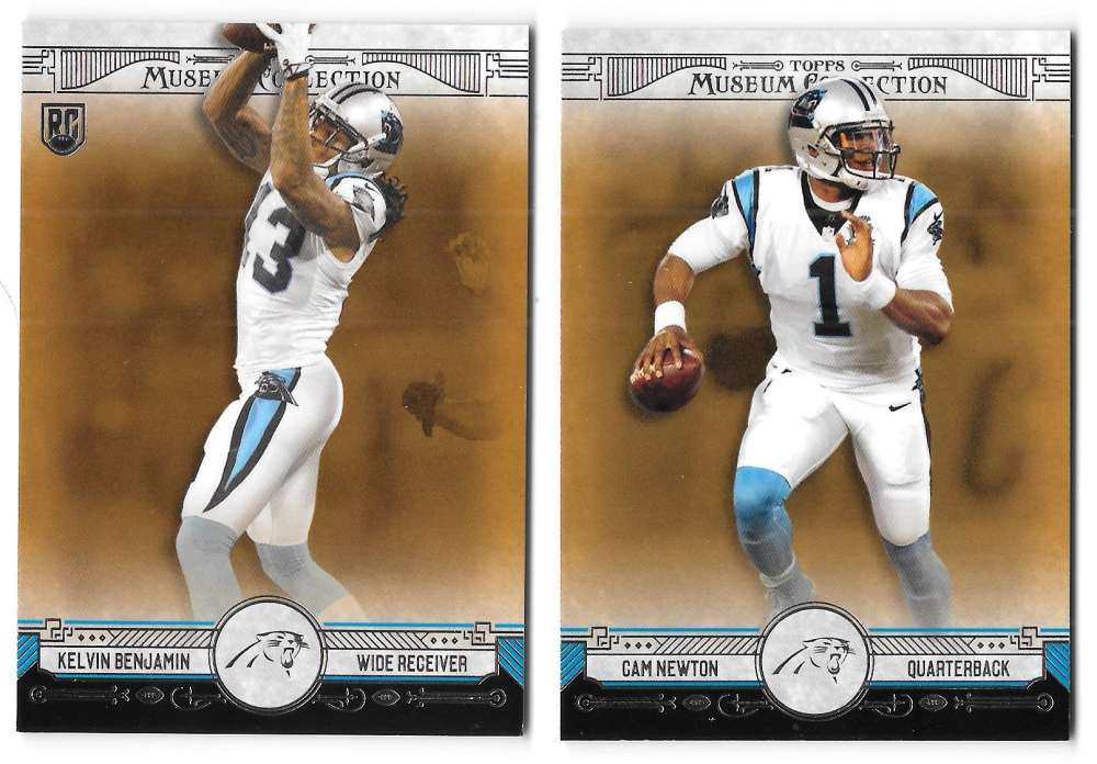 2014 Topps Museum Collection Copper Football - CAROLINA PANTHERS