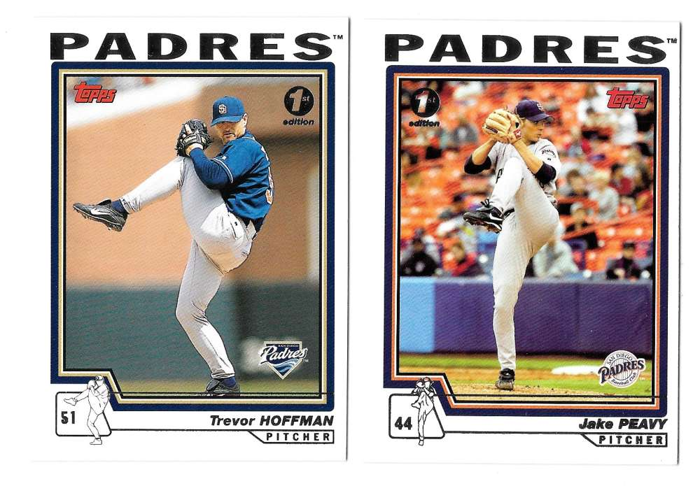 2004 Topps First (1st) Edition - SAN DIEGO PADRES Team Set