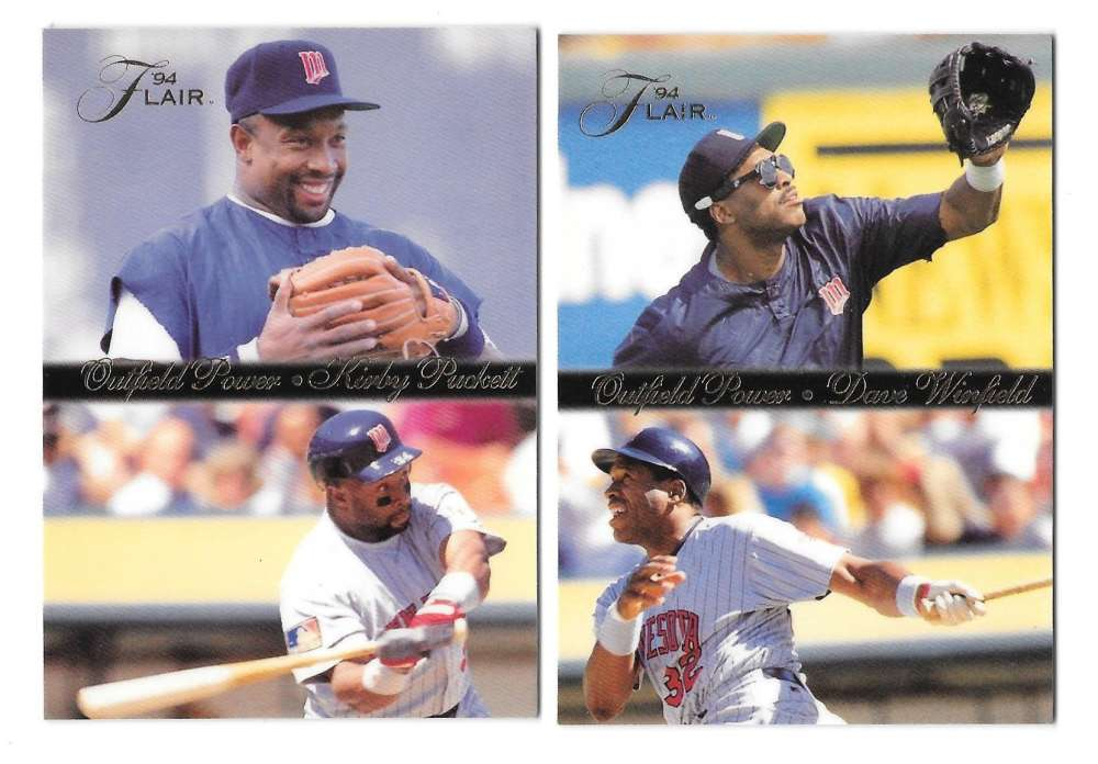 1994 Flair Outfield Power - MINNESOTA TWINS