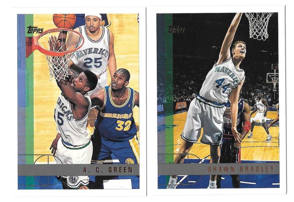 1997-98 Topps Basketball Team Set - Dallas Mavericks
