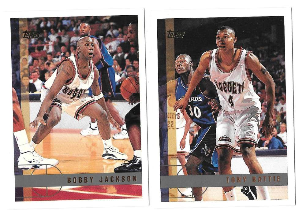 1997-98 Topps Basketball Team Set - Denver Nuggets
