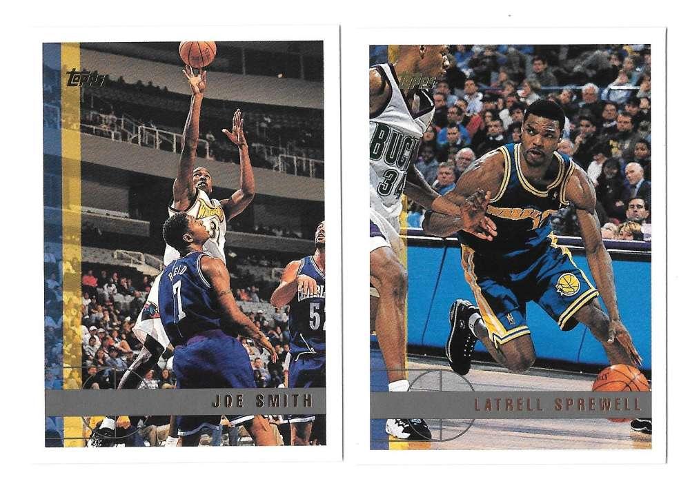 1997-98 Topps Basketball Team Set - Golden State Warriors