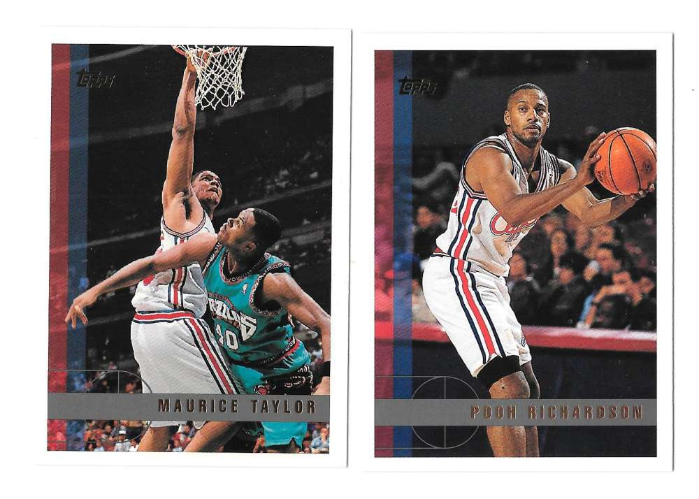 1997-98 Topps Basketball Team Set - Los Angeles Clippers