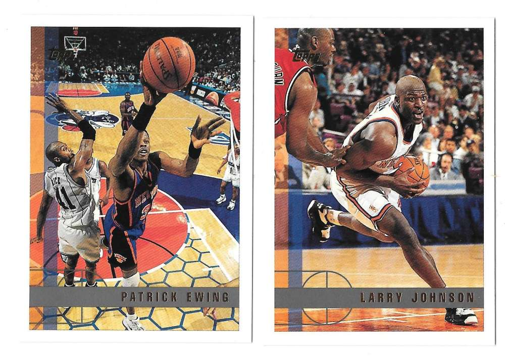 1997-98 Topps Basketball Team Set - New York Knicks