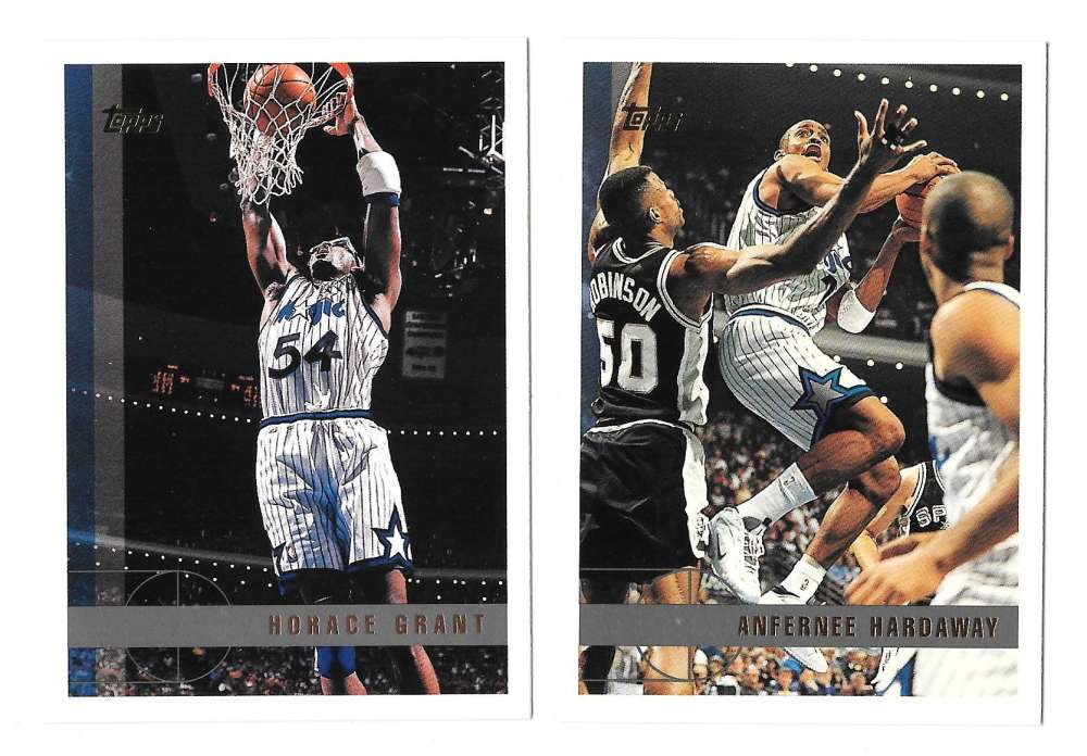 1997-98 Topps Basketball Team Set - Orlando Magic