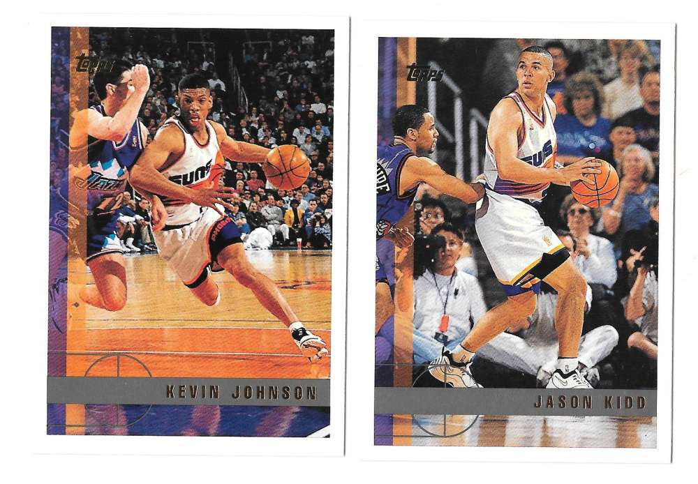 1997-98 Topps Basketball Team Set - Phoenix Suns