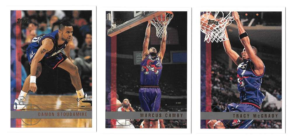 1997-98 Topps Basketball Team Set - Toronto Raptors