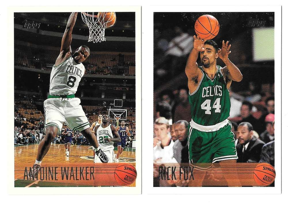 1996-97 Topps Basketball Team Set - Boston Celtics