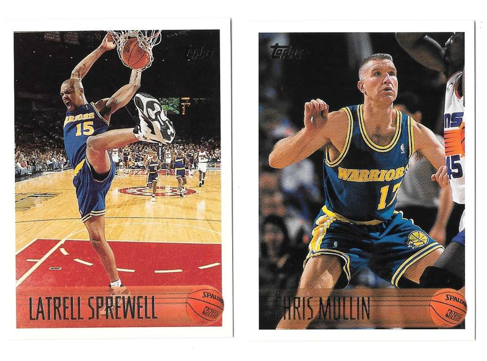 1996-97 Topps Basketball Team Set - Golden State Warriors