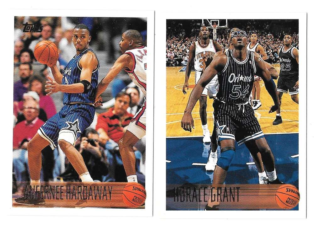 1996-97 Topps Basketball Team Set - Orlando Magic