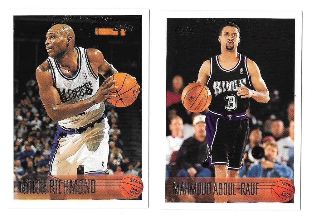 1996-97 Topps Basketball Team Set - Sacramento Kings