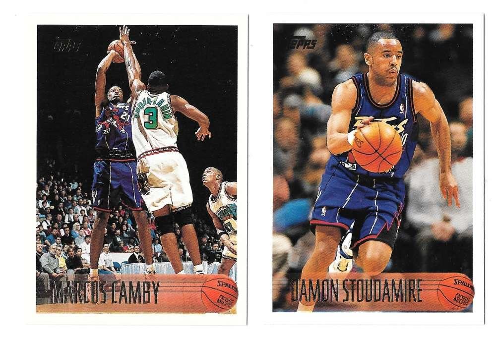 1996-97 Topps Basketball Team Set - Toronto Raptors
