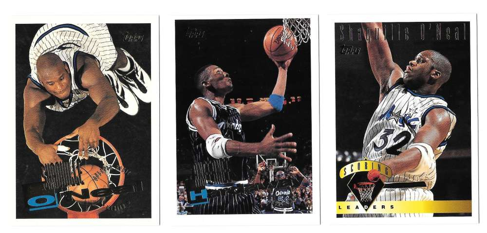 1995-96 Topps Basketball Team Set - Orlando Magic