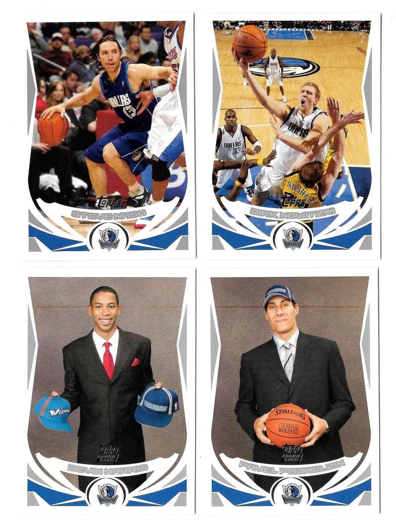 2004-05 Topps Basketball Team Set - Dallas Mavericks