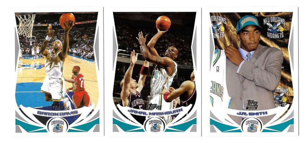2004-05 Topps Basketball Team Set - New Orleans Hornets