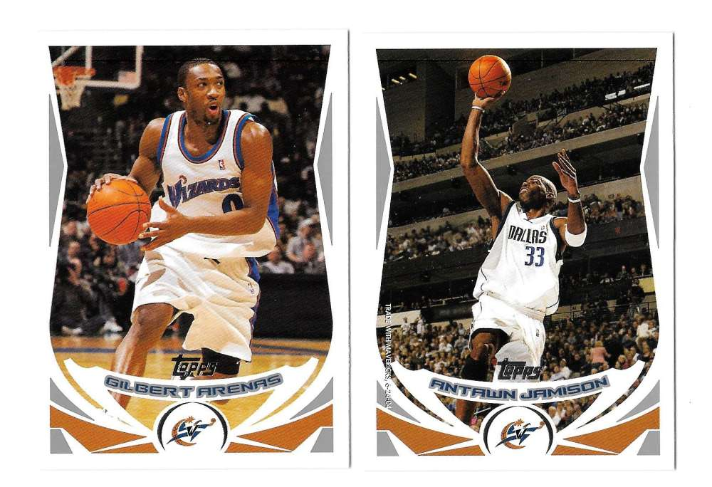2004-05 Topps Basketball Team Set - Washington Wizards