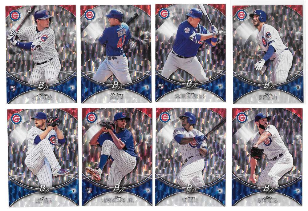 2016 Bowman Platinum ICE - CHICAGO CUBS
