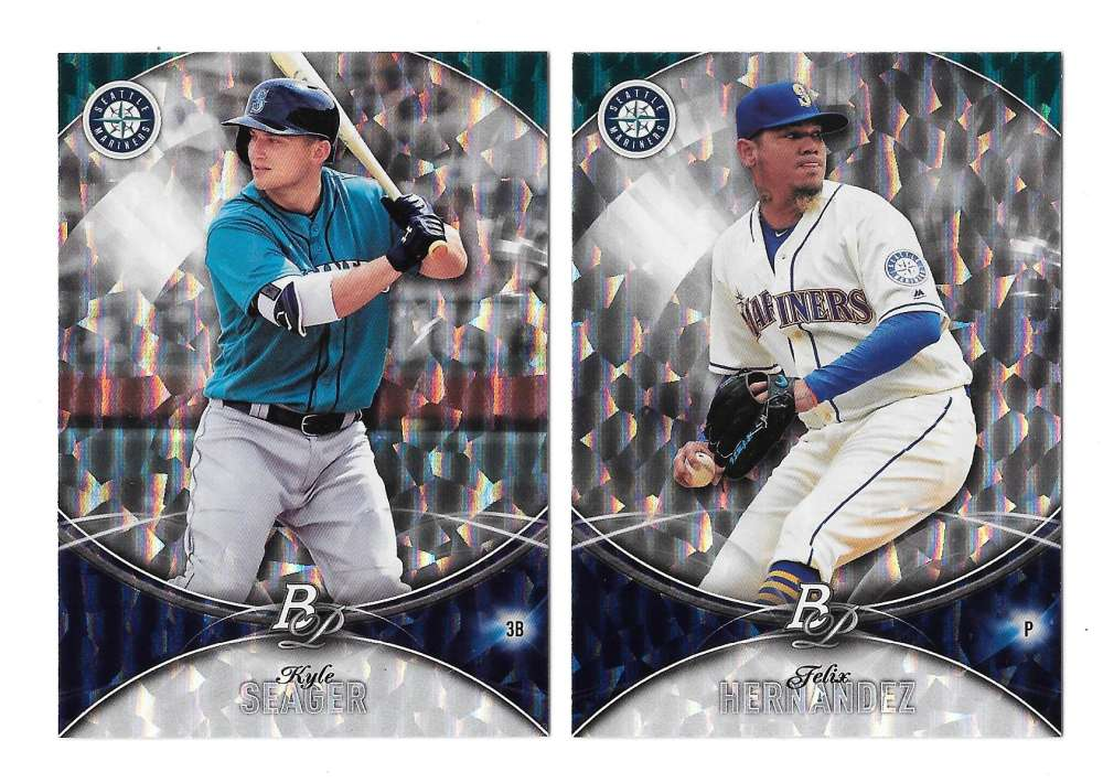 2016 Bowman Platinum ICE - SEATTLE MARINERS