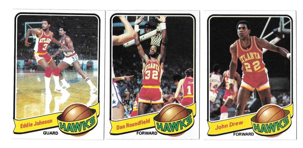 1979-80 Topps Basketball Team Set - Atlanta Hawks
