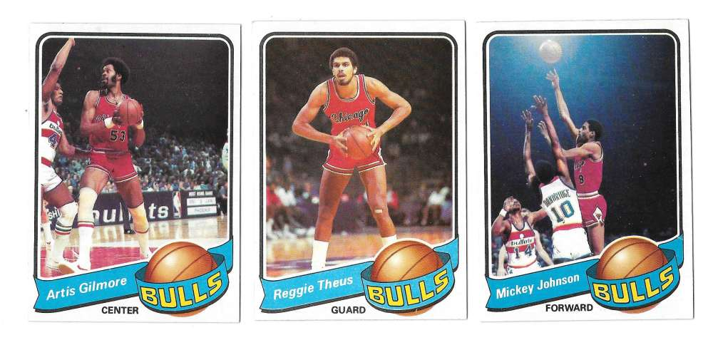 1979-80 Topps Basketball Team Set - Chicago Bulls