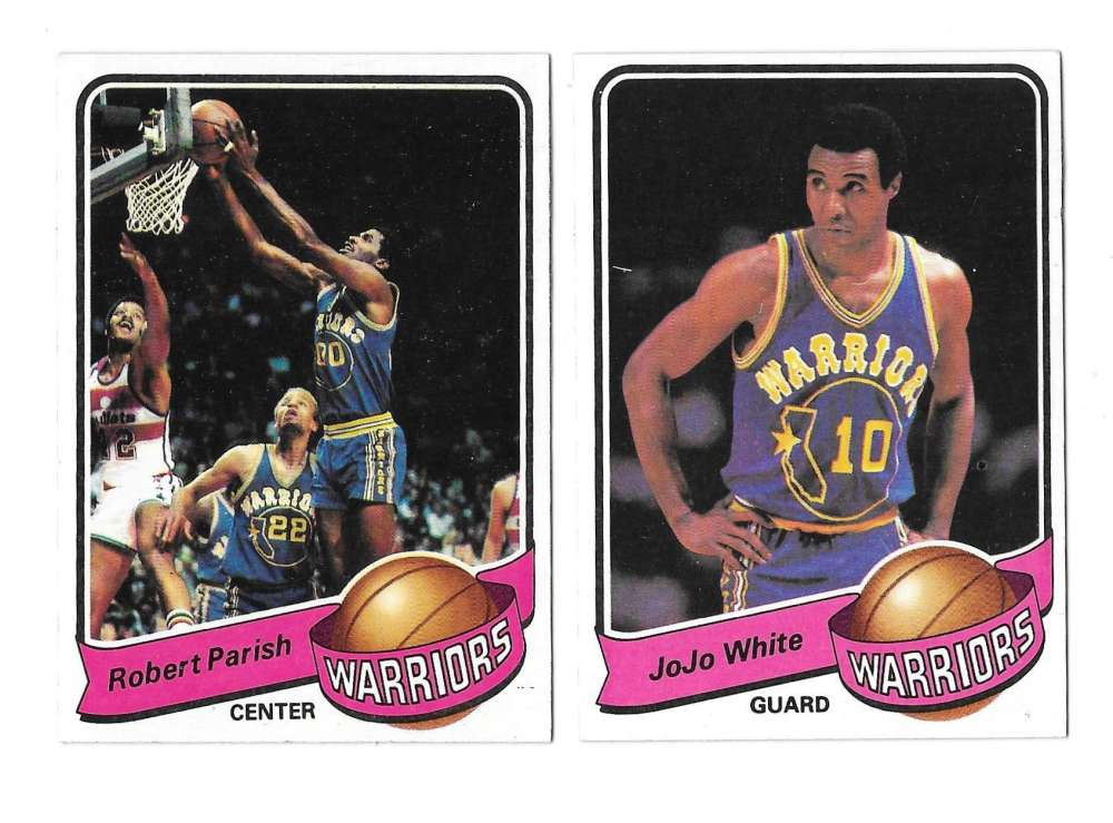 1979-80 Topps Basketball Team Set - Golden State Warriors