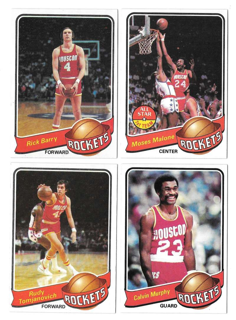 1979-80 Topps Basketball Team Set - Houston Rockets