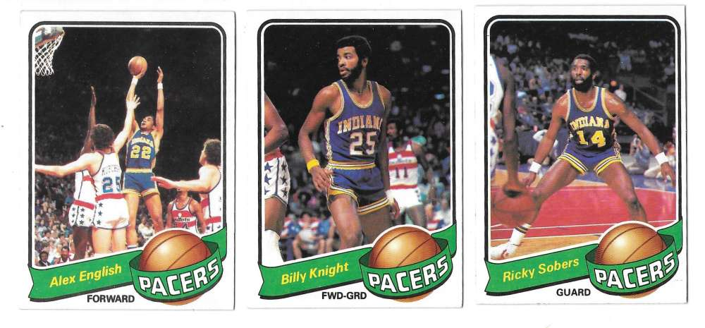 1979-80 Topps Basketball Team Set - Indiana Pacers